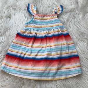 Cute striped dress and bloomers